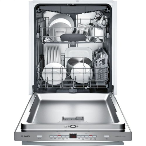 300 Series built-under dishwasher 24'' Stainless steel SHX863WD5N