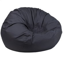 Oversized Solid Gray Bean Bag Chair
