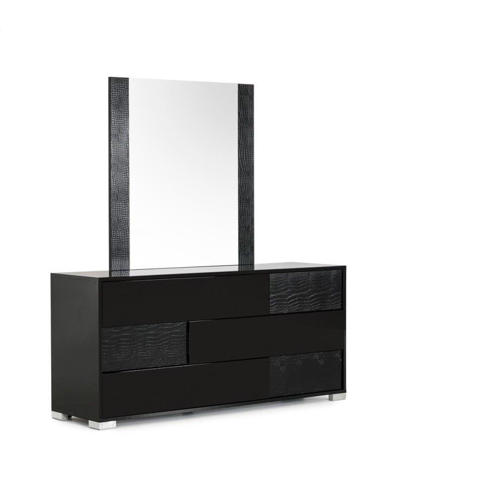 Modrest Ancona Italian Modern Black Mirror