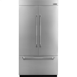 42-inch Stainless Steel Panel Kit for Fully Integrated Built-In French Door Refrigerator