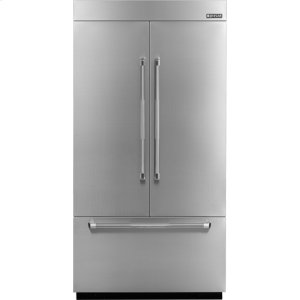 42-inch Stainless Steel Panel Kit for Fully Integrated Built-In French Door Refrigerator - PRO-STYLE(R) STAINLESS HANDLE