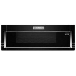 KitchenAid® 1000-Watt Low Profile Microwave Hood Combination - Black