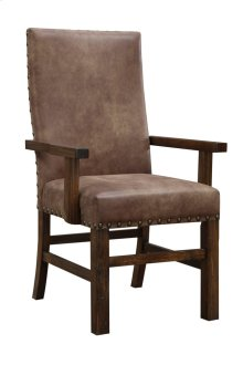 Arm Chair W/nailhead Set Up Fully Upholstered
