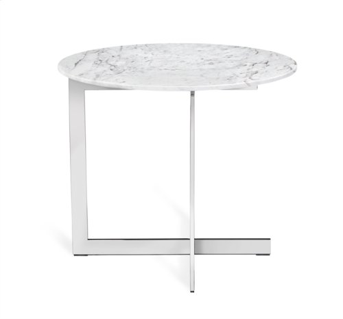 Riley Round Marble Side Table