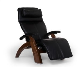 Perfect Chair PC-610 - Black Premium Leather - Walnut