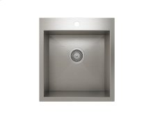 "Stainless steel kitchen sink, handcrafted With Urban style corners [0""]"
