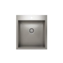 ProInox H0 Single Bowl Topmount Kitchen Sink ProInox H0 18-gauge Stainless Steel, 16'' x 16 '' x 9''