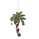 Christmas Palm Tree Ornament. Product Image