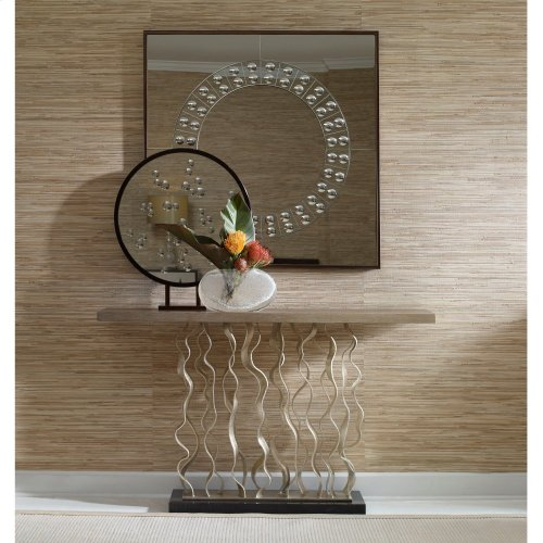 Waves Console Table