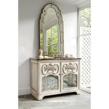 Laurel Sink Chest - White