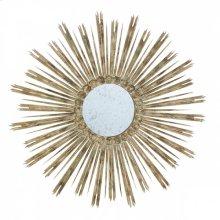 Skovde White Wood Mirror