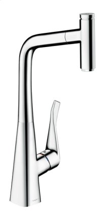 Chrome Prep Kitchen Faucet, 1-Spray Pull-Out, 1.75 GPM