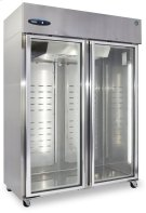 Freezer, Two Section Upright, Full Glass Door Product Image