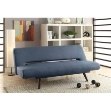 Mid-century Modern Grey Adjustable Sofa Bed