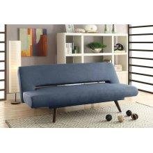 Mid-century Modern Grey Adjustable Sofa Bed