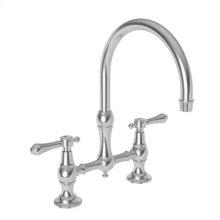 Forever Brass - PVD Kitchen Bridge Faucet