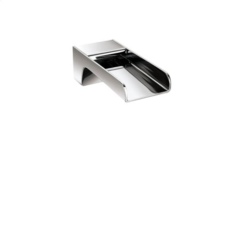 "7"" square wallmount cascading tub spout"