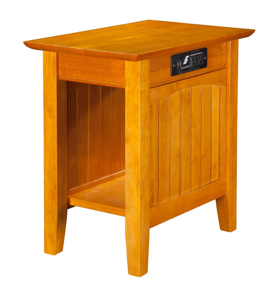 Hidden · Additional Nantucket Chair Side Table With Charging Station