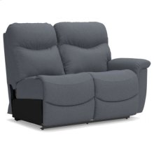 James Left Arm Sitting Reclining Loveseat
