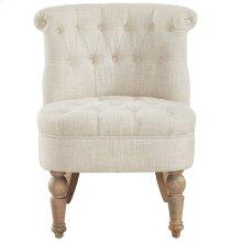Briana Accent Chair in Beige