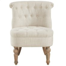 Briana Accent Chair in Beige