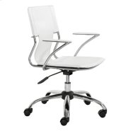 Trafico Office Chair White Product Image