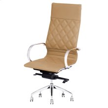 Atlas PU Office Chair, Desert Peru Brown