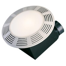 Deluxe Round Exhaust Fan with Light