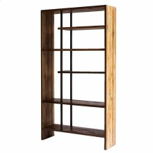 Cabbot KD Book Case, Natural