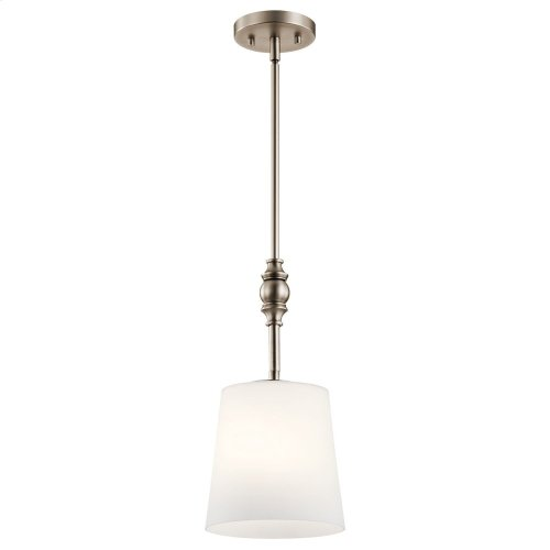 Versailles 1 Light Mini Pendant Antique Pewter