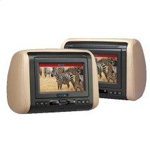 "7"" Headrest System with DVD/HDMI/MHL Input"