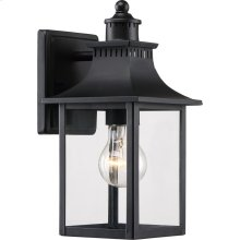 Chancellor Outdoor Lantern in Mystic Black