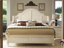 Steel Magnolia Bed (Queen) - Linen