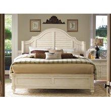 Steel Magnolia Queen Bed - Linen