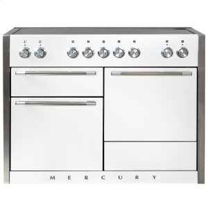 White AGA Mercury Induction Range  AGA Ranges - WHITE