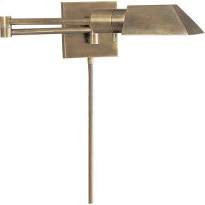 Visual Comfort 82034AN Studio 24 inch 40 watt Antique Nickel Swing-Arm Wall Sconce Wall Light