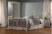 Ruby Wood Post Bed Set - King - Rails Not Included