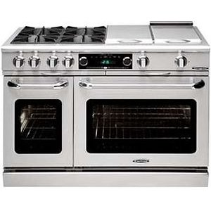 "CapitalCulinarian 48"" Gas Self Clean Range"