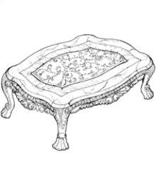 Jumbo Rectangular Cocktail Table