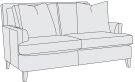 Addison Loveseat in Mocha (751) Product Image