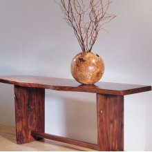 Console Table Small / Sustainable Hardwood