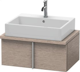 Vero Vanity Unit For Console Compact, Cashmere Oak