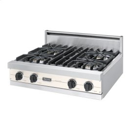 "Oyster Gray 30"" Sealed Burner Rangetop - VGRT (30"" Wide, four burner)"