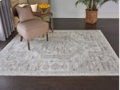 Euphoria Eup02 Ivory Rectangle Rug 3'11'' X 5'11''