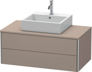 Vanity Unit For Console Wall-mounted, Basalt Matt (decor)