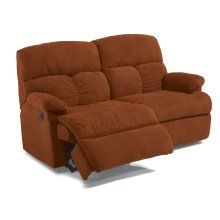 Triton Fabric Power Reclining Studio Sofa