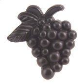 Vineyard Grapes Knob 2 Inch - Aged Bronze