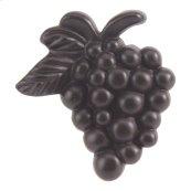 Vineyard Grapes Knob 2 Inch - Aged Bronze