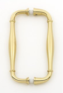 Charlie's Collection Back-to-Back Pull G726-6 - Polished Brass
