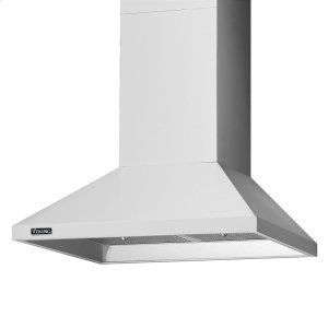"Viking30"" Wide Chimney Wall Hood + Ventilator - RVCH Viking Product Line"